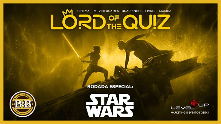 Lord of the Quiz: Star Wars + Cinema, TV, HQ, Games etc