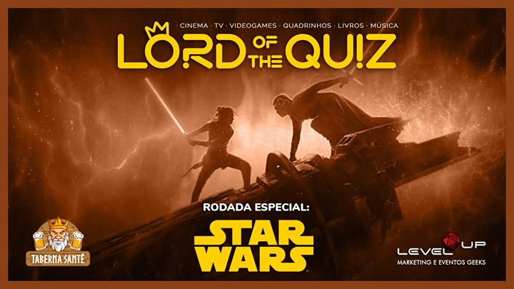 Lord of the Quiz: STAR WARS + Cultura Geek Geral