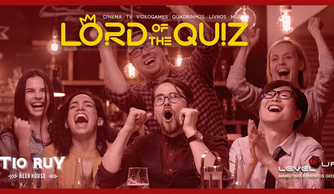 Lord of the Quiz na Gávea – Toda 5a-feira